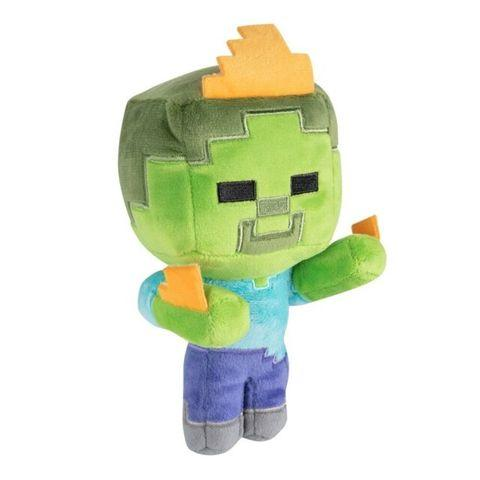 Плюшевая игрушка Minecraft Happy Explorer Zombie On Fire Plush